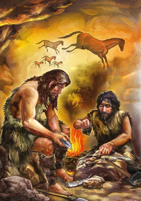 тому качество картинки древнего человека огонь и вода под